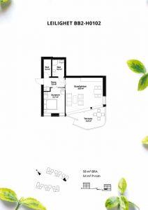Plantegning bb2-h0102